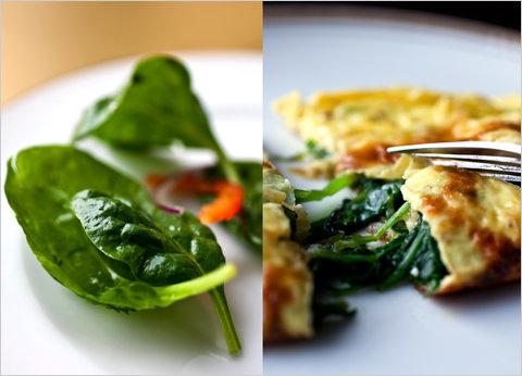 Как сделать вкусное блюдо из шпината